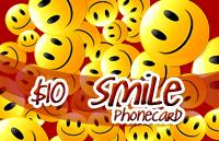 Smile Phone Card $10